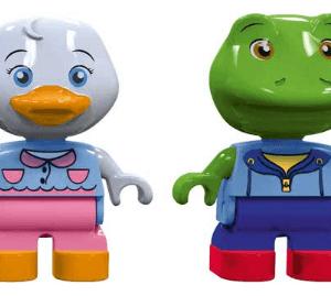 AquaPlay Speelfiguren Kikker en Eend